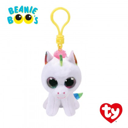 Ty Toys Beanie Boos (Choose From Multiple Sizes) Pixy The White Unicorn Soft Toys
