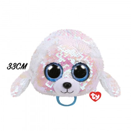 Ty Fashion - Icy the White Seal Sequins Backpack