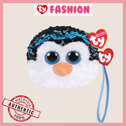 Ty Fashion (Malaysia Official)  Sequins Wristlet  Waddles the Penguin