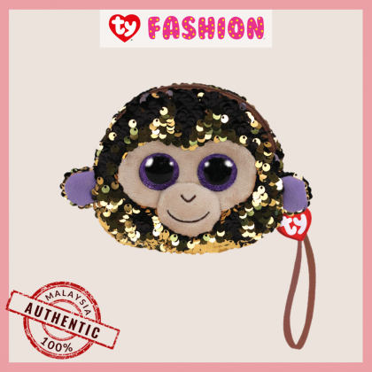 Ty Fashion (Malaysia Official)  Sequins Wristlet  Coconut the Monkey