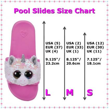 Ty Footwear (Malaysia Official)   Sequin Slides (Small, Medium & Large)   Diamond the Unicorn