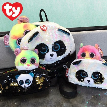 Ty Fashion - BAMBOO the Panda Sequins Backpack (Large)