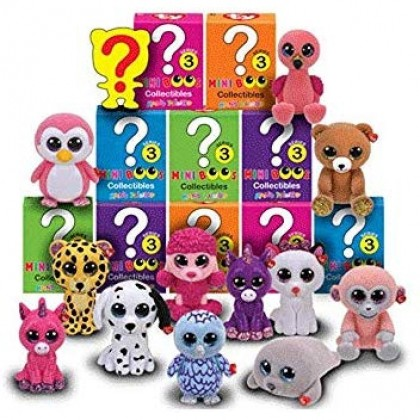Ty Plush Toys (Malaysia Official)  Mini Boos Collectibles  Series 3