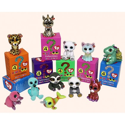 Ty Plush Toys (Malaysia Official)  Mini Boos Collectibles Series 4  Gift Idea For Boys Girls Kids