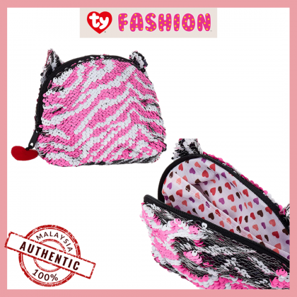 Ty Fashion   Sequins Accessories Bag   Zoey The Sequin Multicolor Zebra   Accessories Bags Gift Idea for Girls Kids