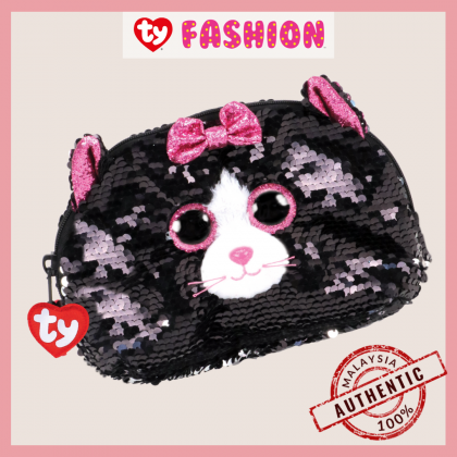 Ty Fashion | Sequins Accessories Bag | Kiki The Black Cat | Accessories Bags Gift Idea for Girls Kids